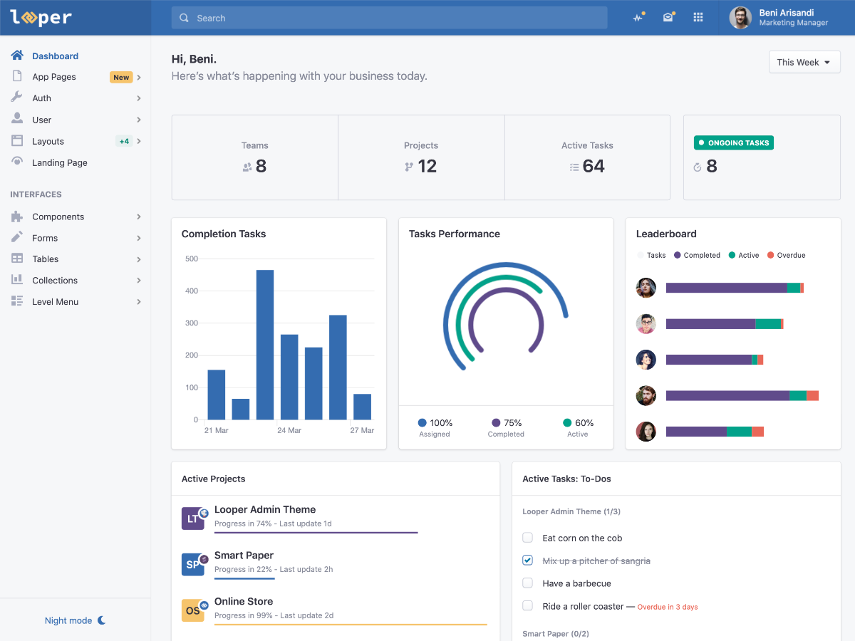 Keen – The Ultimate Bootstrap Admin Theme - Bootstrap Themes