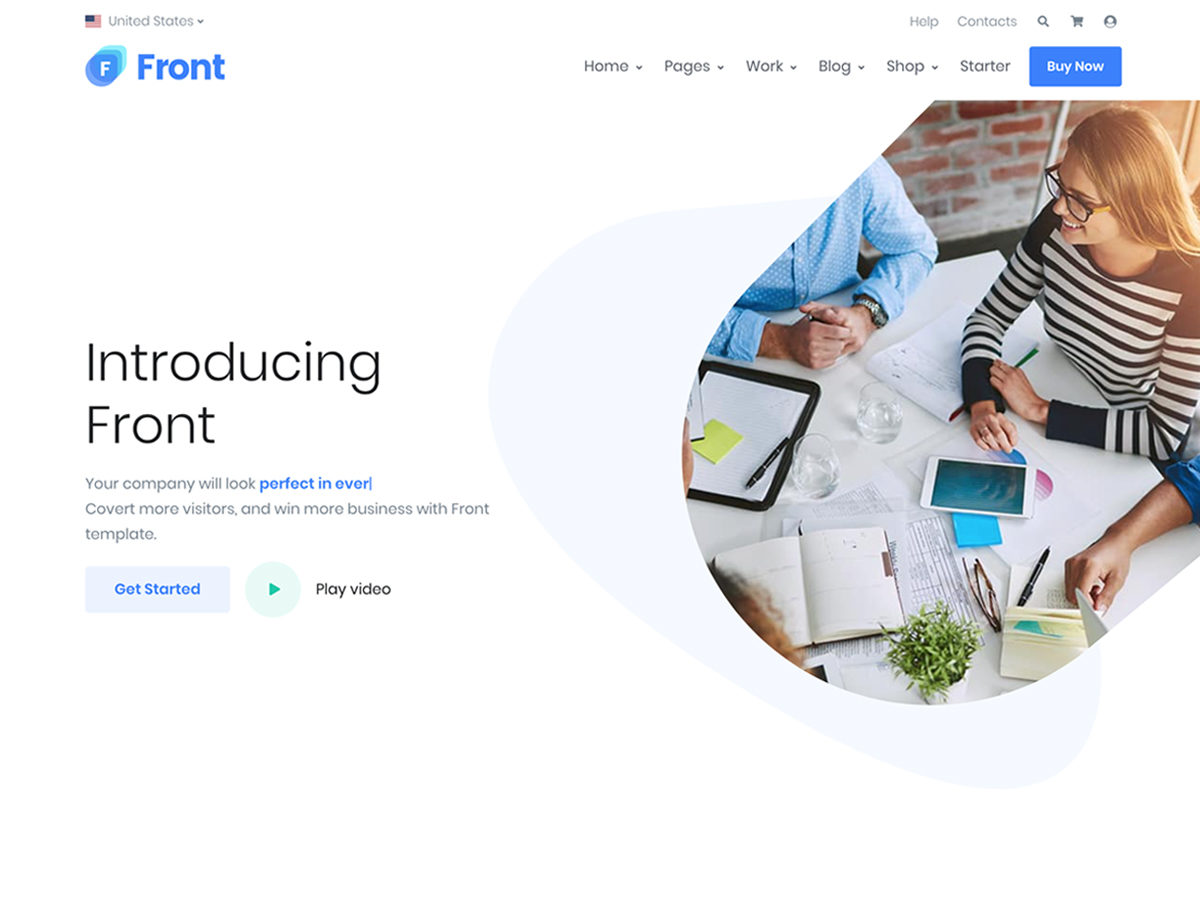 Front – Multipurpose Responsive Template - Bootstrap Themes