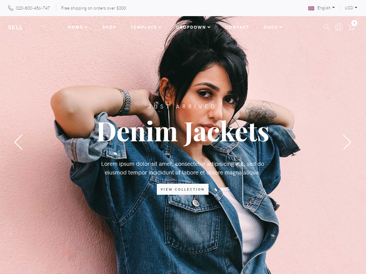 Sell Bootstrap 4 E Commerce Template Bootstrap Themes