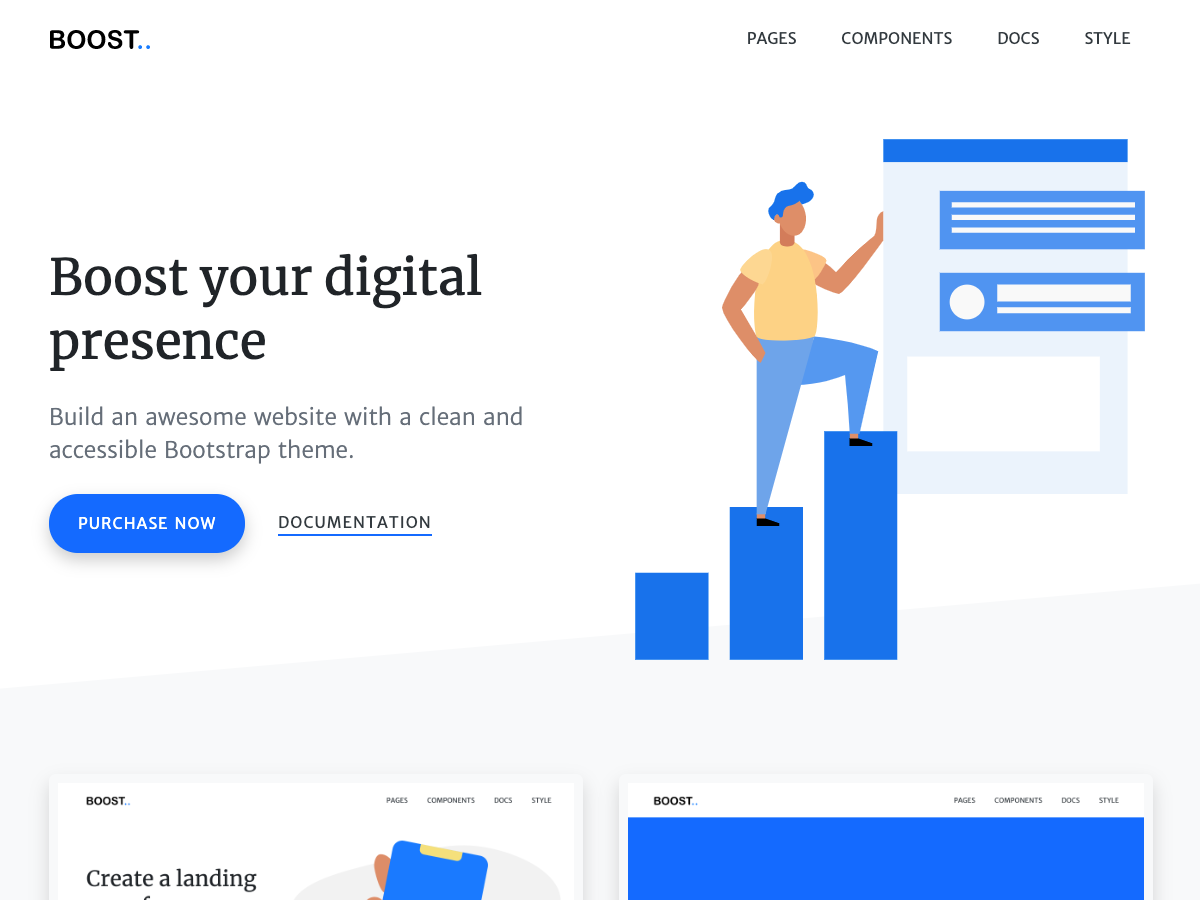 Boost - Bootstrap Themes
