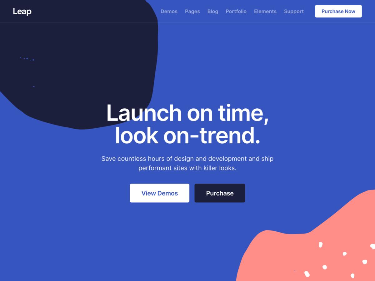 Leap – Multipurpose Template + UI Kit - Bootstrap Themes